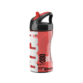 Elite Bocia Bidon 350ml rood/transparant
